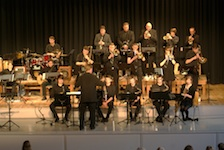 Die Big Band in Aktion