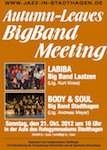 Plakat des Big Band Meetings