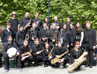 Die Bigband in Paris